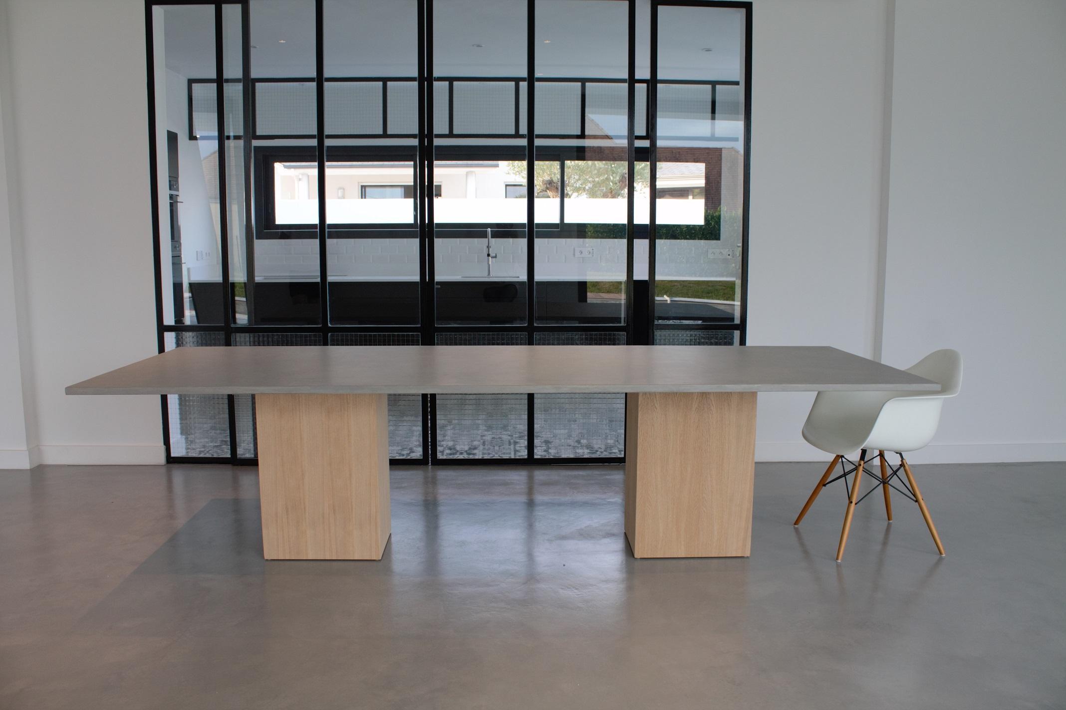 Table Beton Cire destiné parth | indoor beton